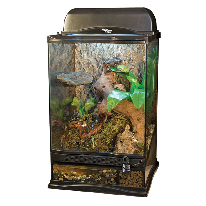 naturalistic terrarium frog kit cage for reptile